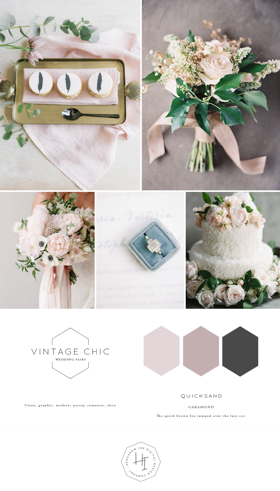 Vintage Chic mood board